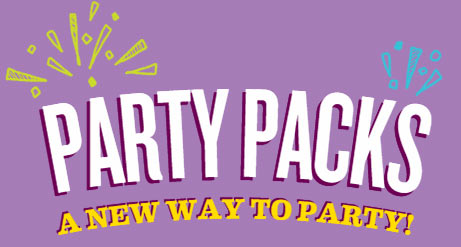 Party Packs - A new way to party!