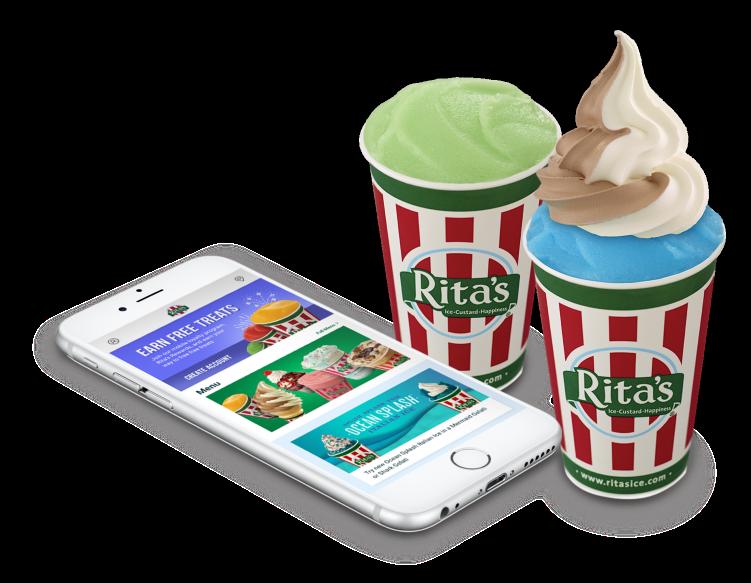 Download Rita's App to earn free treats