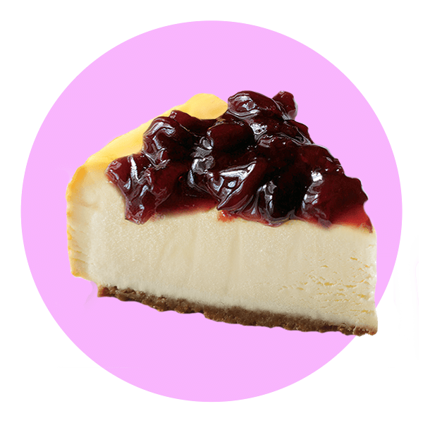 Cream Ice Black Cherry Cheesecake