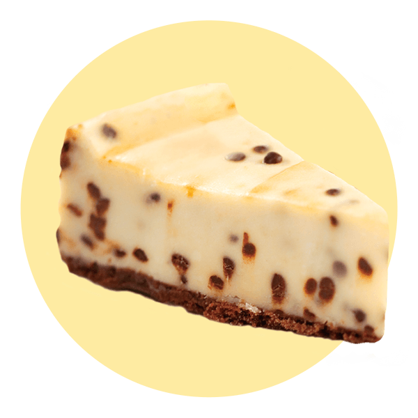 Cream Ice Chocolate Chip Cheesecake