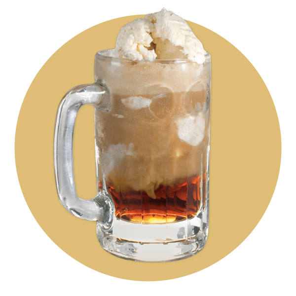 Cream Ice Root Beer Float