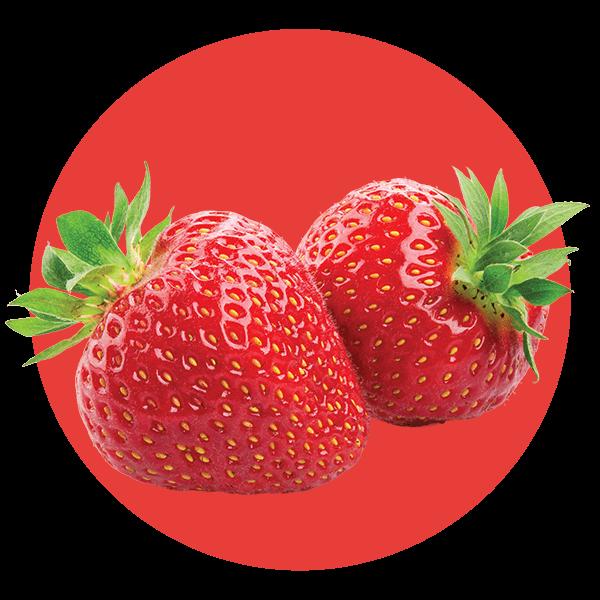 Custard Strawberry