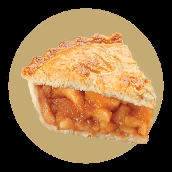 Hand Scooped Apple Pie