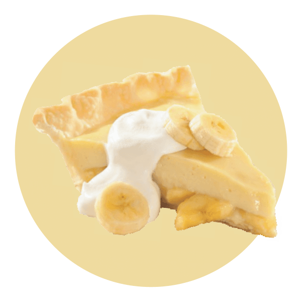 Hand Scooped Banana Cream Pie