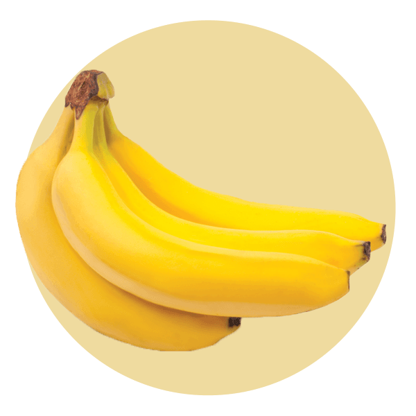 Hand Scooped Banana