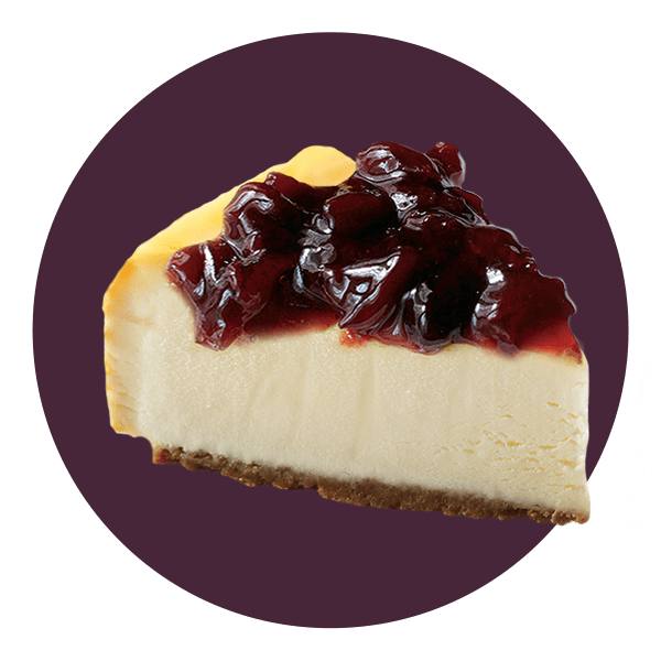 Hand Scooped Black Cherry Cheesecake