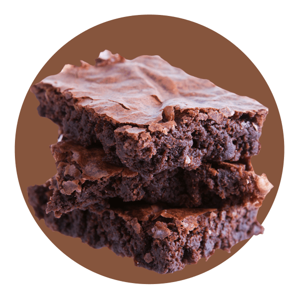 Hand Scooped Chocolate Fudge Brownie
