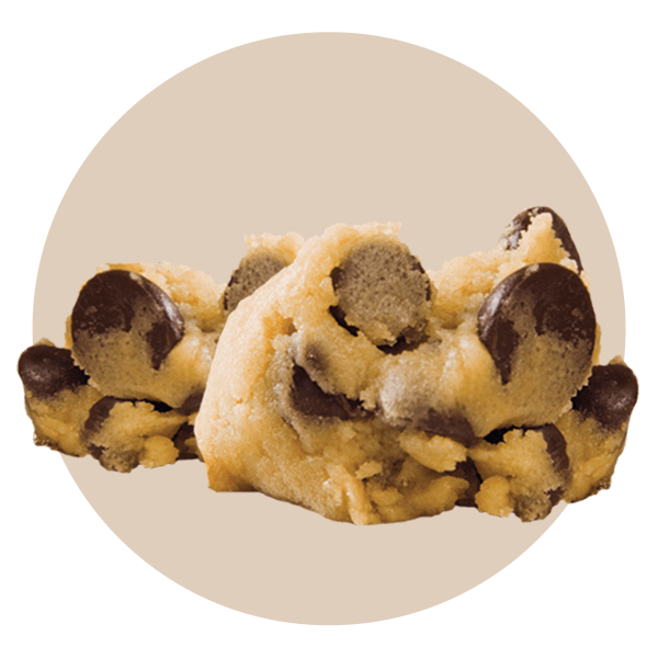 Hand Scooped Cookie Dough