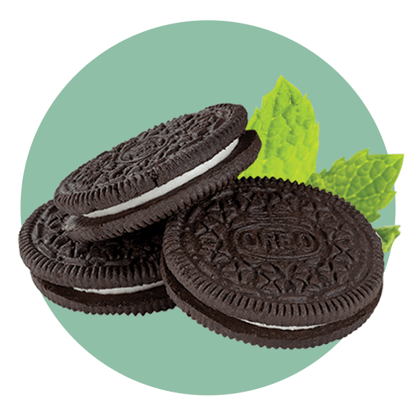Hand Scooped Mint Oreo Cookie