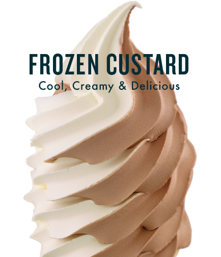 Frozen Custard - Cool, Creamy & Delicious
