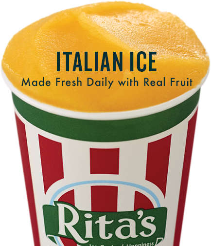 Italian Ice Made Fresh Daily with Real Fruit